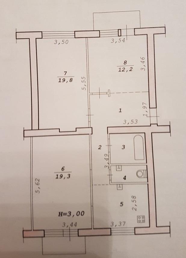 Продам 3-к квартиру, Волгоград, улица Маршала Чуйкова, 19
