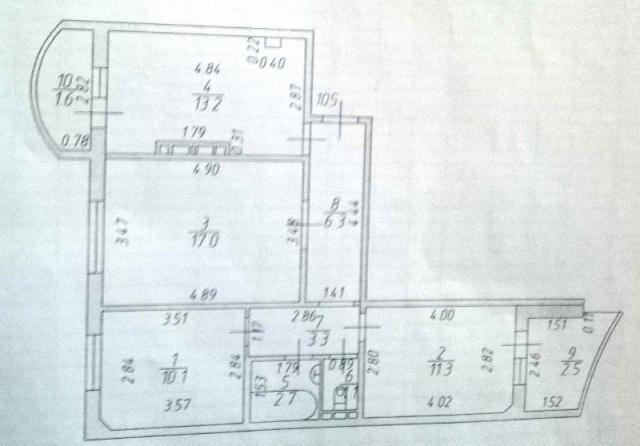 Продажа 3-к квартиры Ноксинский Спуск, 20/1, 69.0 м² (миниатюра №6)