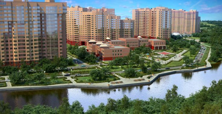 Продается однокомнатная квартира за 2 960 000 рублей. Видное, жилой комплекс Зелёные Аллеи.