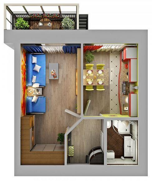 Продажа 1-к квартиры весна