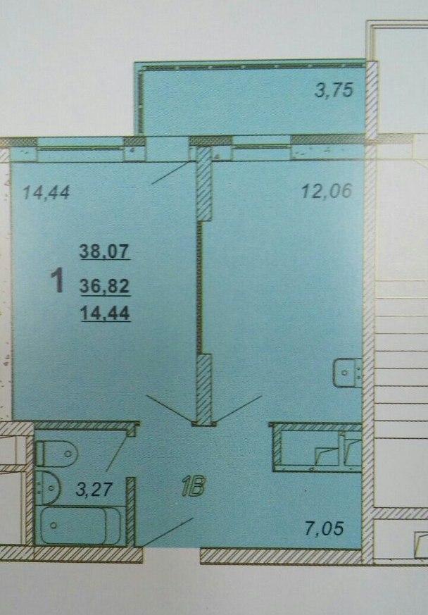 Продажа 1-к квартиры восстания, 82А