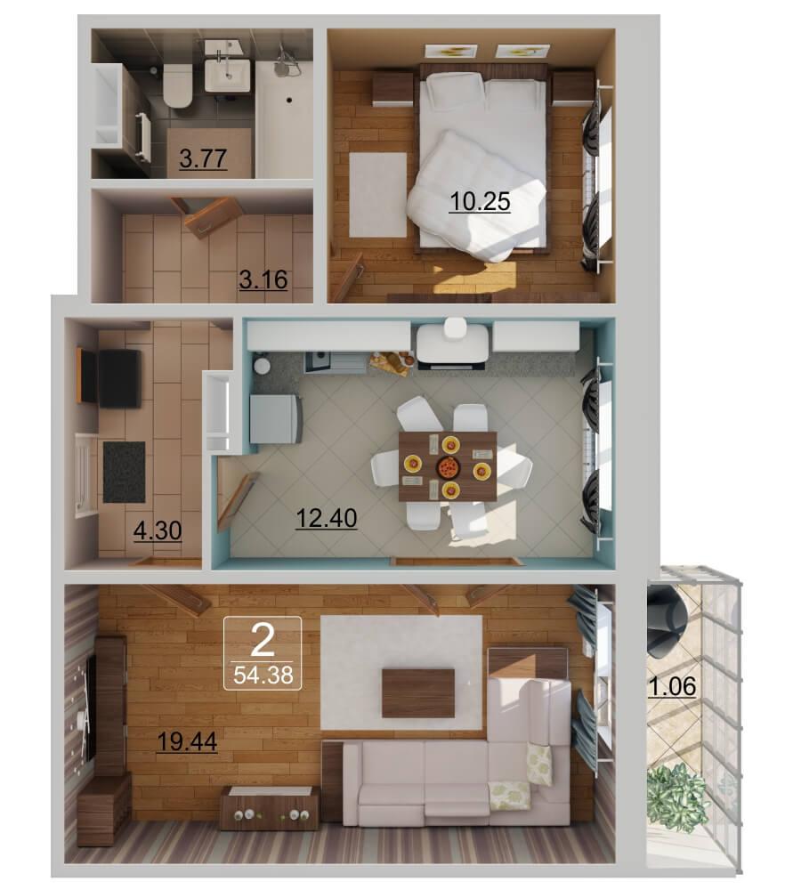 Продажа 2-к квартиры казань xxi век