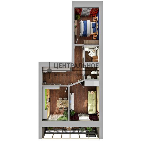 Продажа 2-к квартиры николая ершова