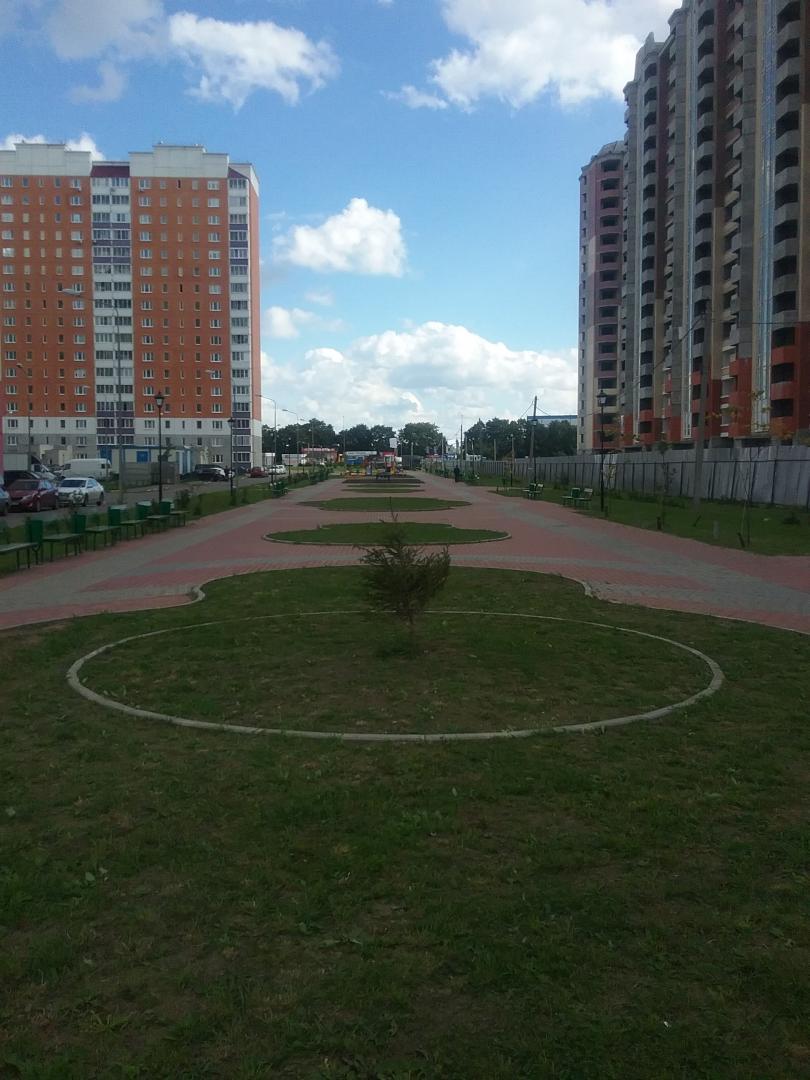 Продается однокомнатная квартира за 2 385 320 рублей. Домодедово, жилой комплекс Домодедово Парк, к210.