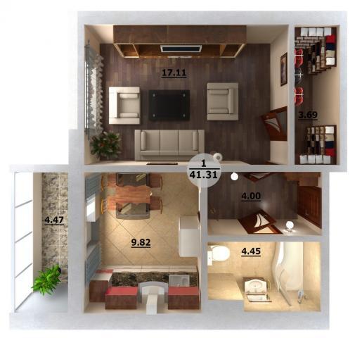 Продажа 1-к квартиры улица Натана Рахлина
