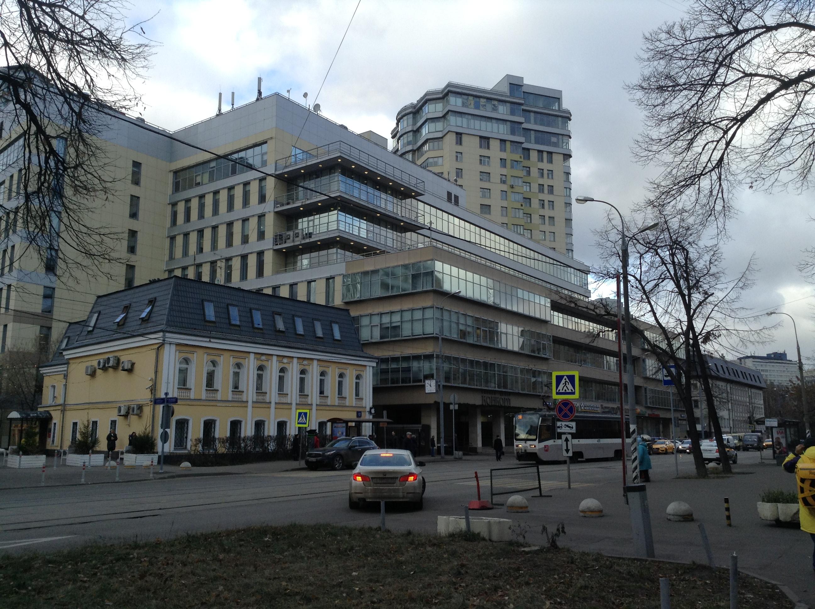 Москва город, улица Шаболовка, 10