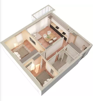 Продажа 3-к квартиры с. Константиновка, 1 этап