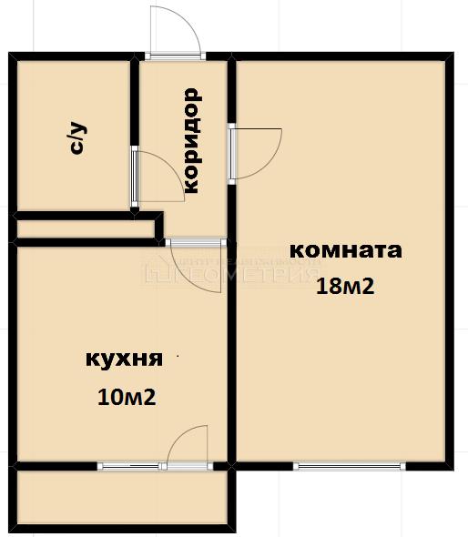 1-комн. квартира, 34.8 кв.м., улица Валерия Гассия, 6, краснодар