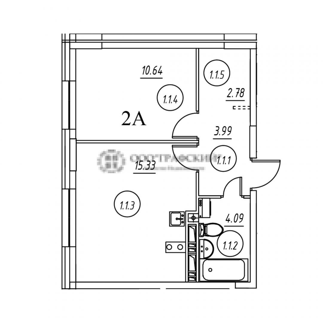Продажа 2-к квартиры тэцевская