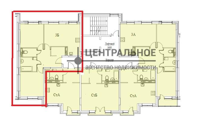 Продажа 3-к квартиры ул. Тэцевская, жилые дома