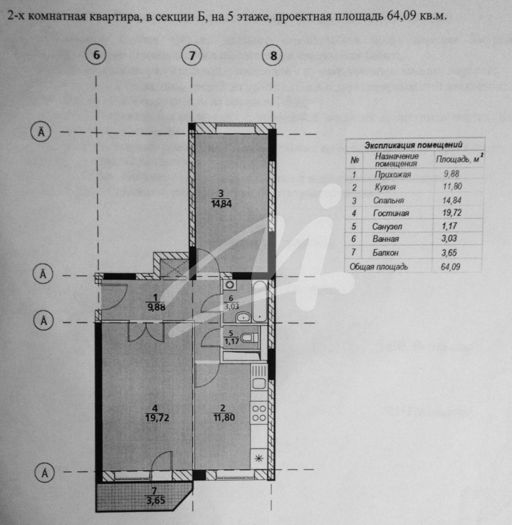 Продается двухкомнатная квартира за 4 690 000 рублей. Московская обл, г Люберцы, дп Красково, ул Карла Маркса, д 71.