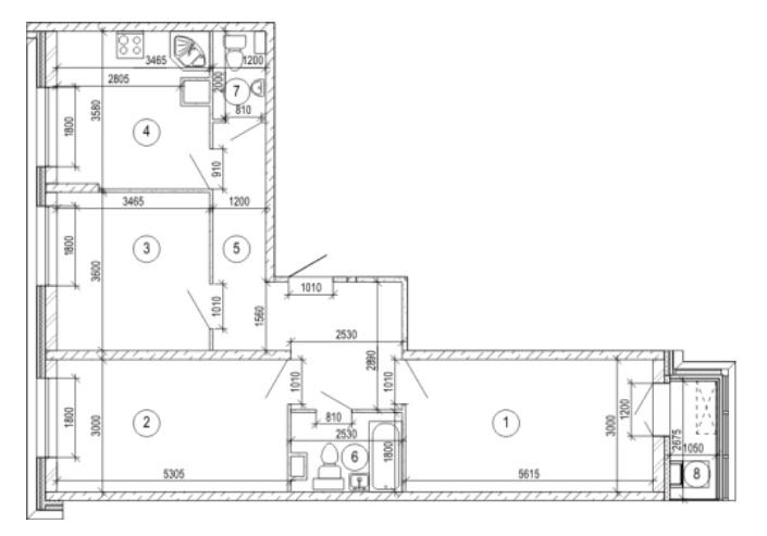 Продается трехкомнатная квартира за 6 119 325 рублей. Красногорск, бульвар Космонавтов, 1.