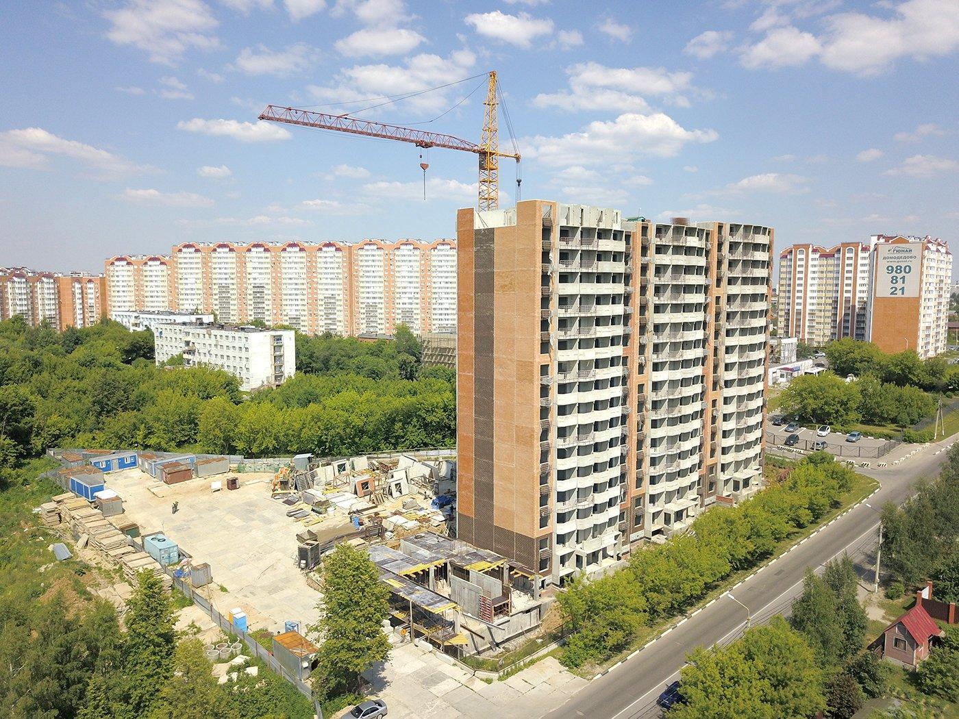Продается однокомнатная квартира за 2 500 000 рублей. Московская обл, г Домодедово, мкр Западный, ул Текстильщиков, д 44.