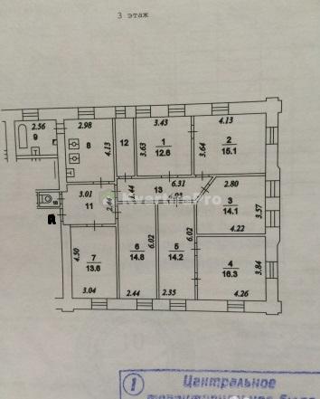 Продается недвижимость за 26 700 000 рублей. г Москва, ул Новослободская, д 31 стр 1.