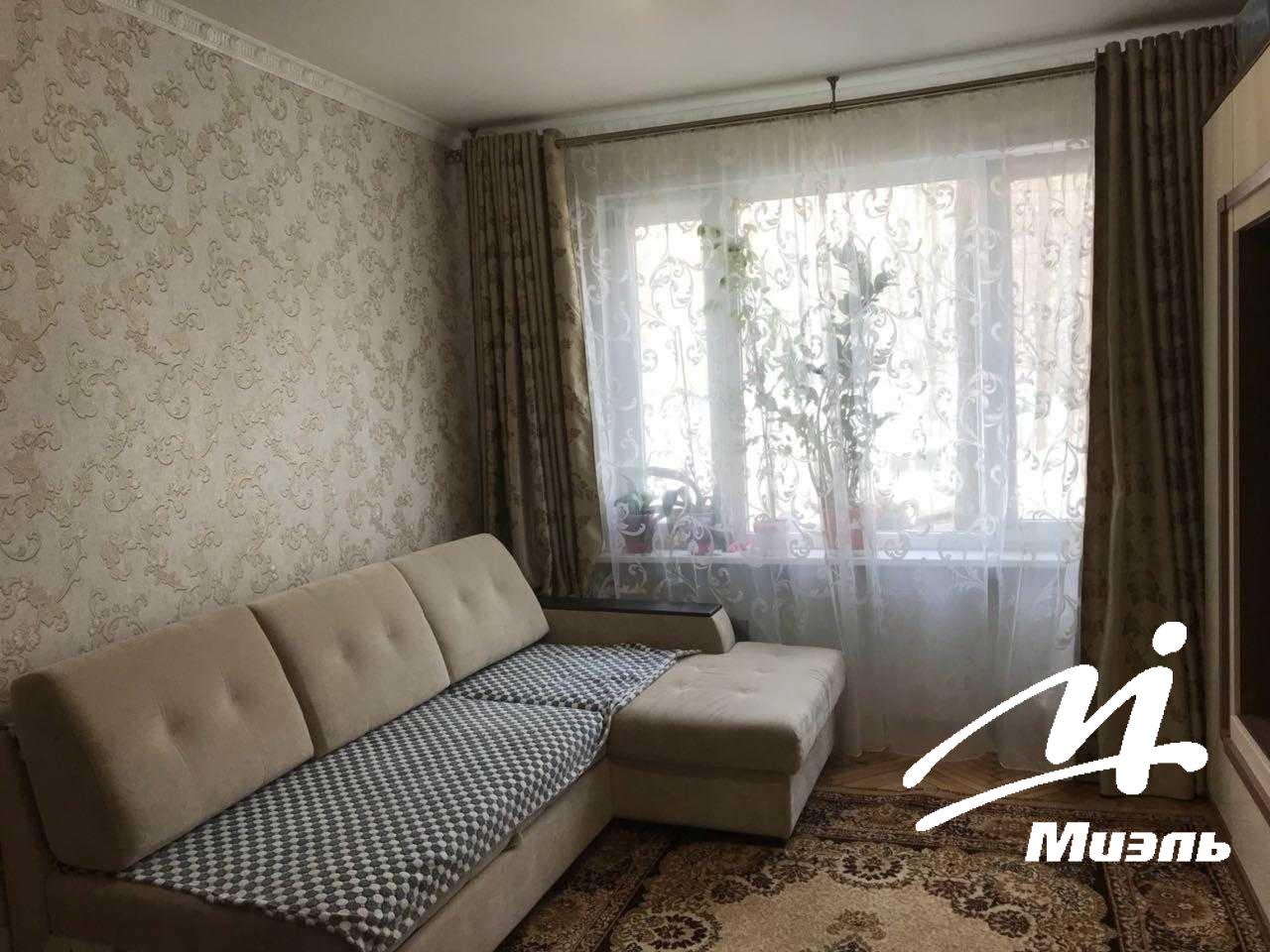 Продается двухкомнатная квартира за 3 800 000 рублей. Пушкино, микрорайон Серебрянка, 6.