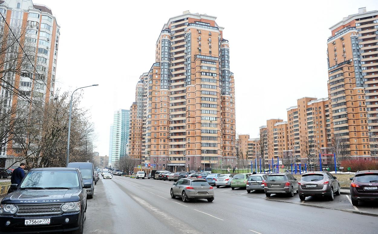 Москва, улица Лавочкина, 34к1