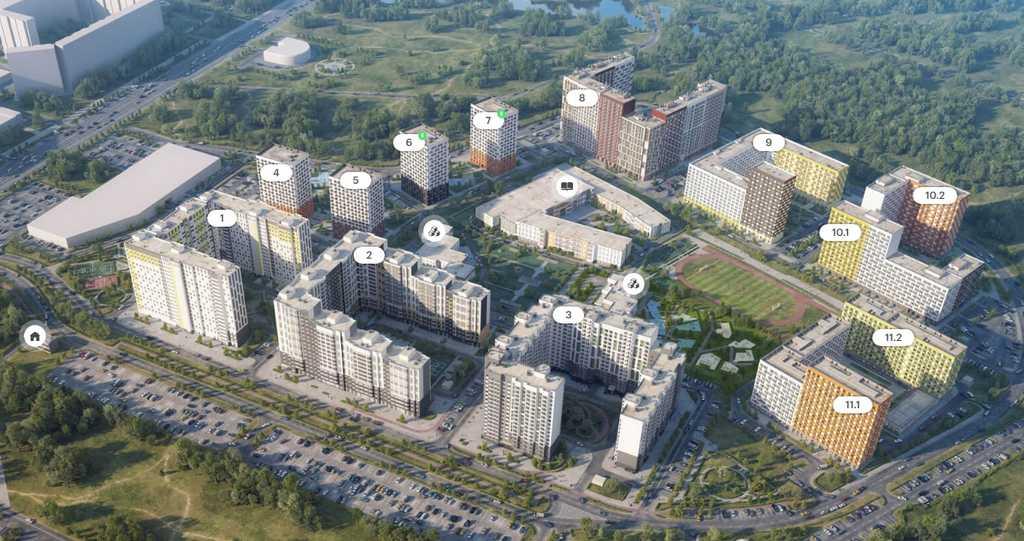Продается двухкомнатная квартира за 6 801 260 рублей. Зеленоград, Георгиевский проспект.