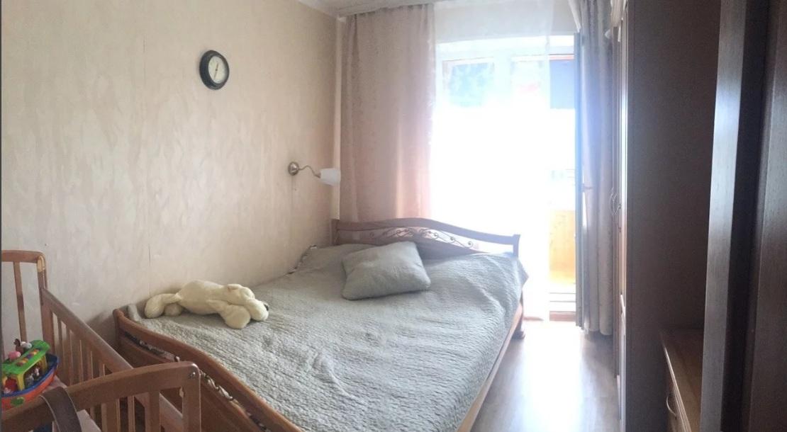 Продается трехкомнатная квартира за 3 700 000 рублей. Дубна, 12.
