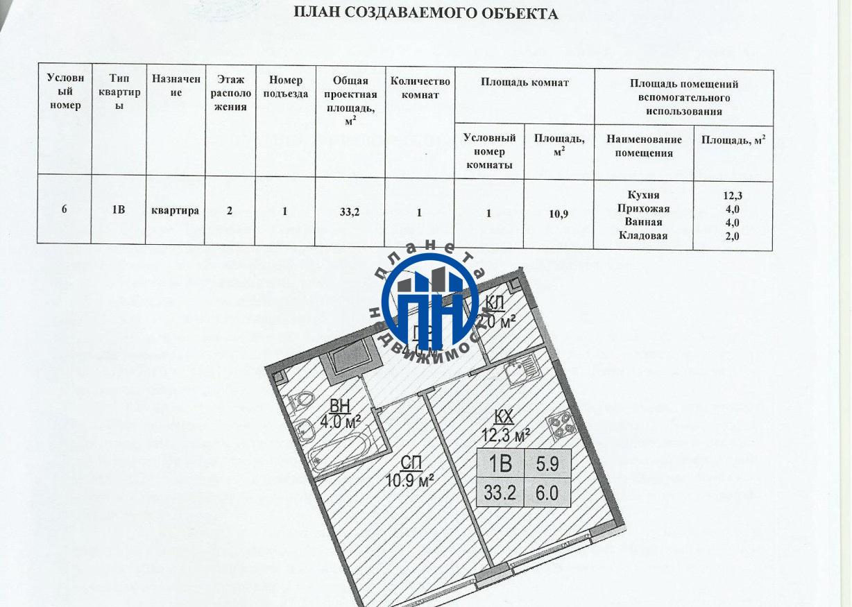 Продается однокомнатная квартира за 5 500 000 рублей. Коммунарка, Бачуринская улица, 6 корп.