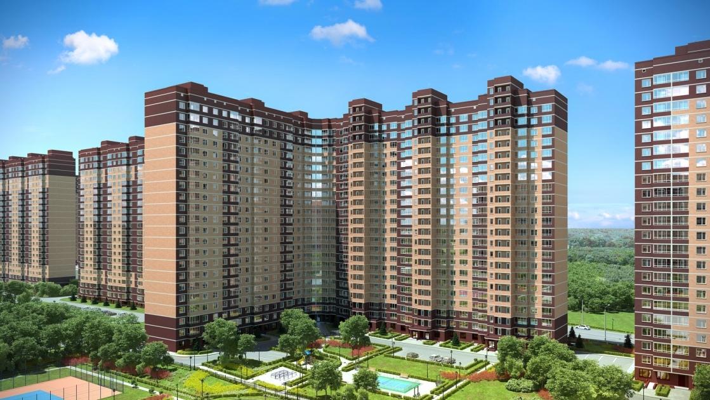 Продается двухкомнатная квартира за 3 544 415 рублей. Балашиха, микрорайон Новое Павлино, к19.