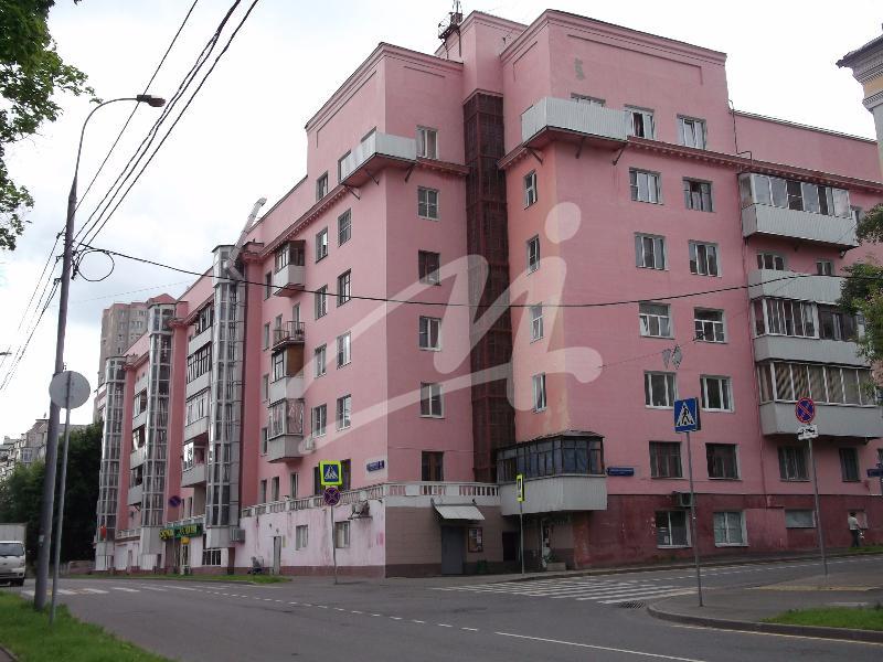 Продается четырехкомнатная квартира за 13 000 000 рублей. Москва, улица Короленко, 4/14.