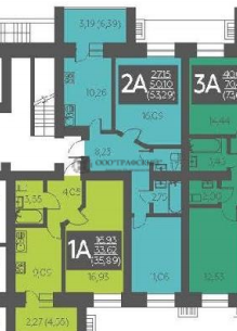 Продажа 2-к квартиры ул. Портовая, жилые дома