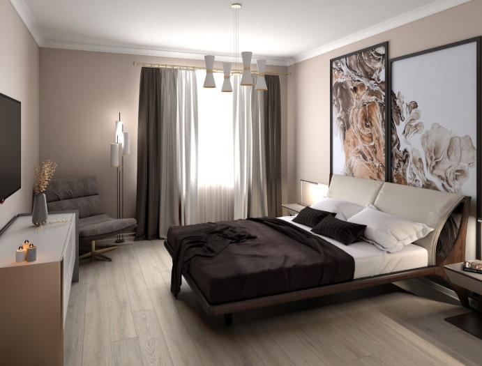 Продается трехкомнатная квартира за 14 080 356 рублей. г Москва, ул Поляны, д 5.
