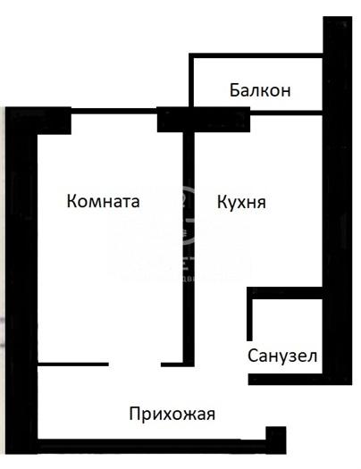 Продается однокомнатная квартира за 6 900 000 рублей. г Москва, Балаклавский пр-кт, д 28Б стр 2.