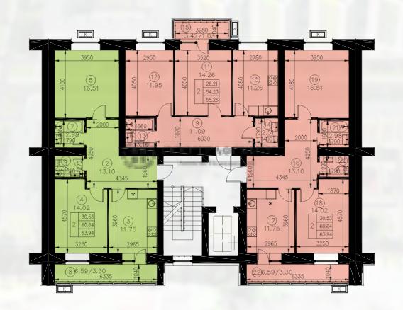 Продажа 2-к квартиры весна