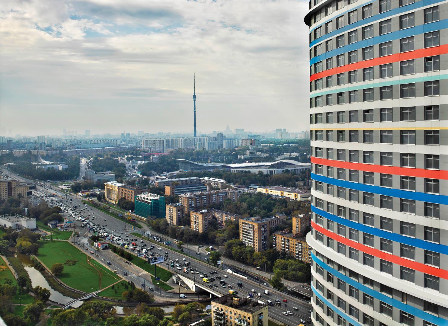 Продается трехкомнатная квартира за 18 083 000 рублей. г Москва, пр-кт Мира, д 188Б к 2.