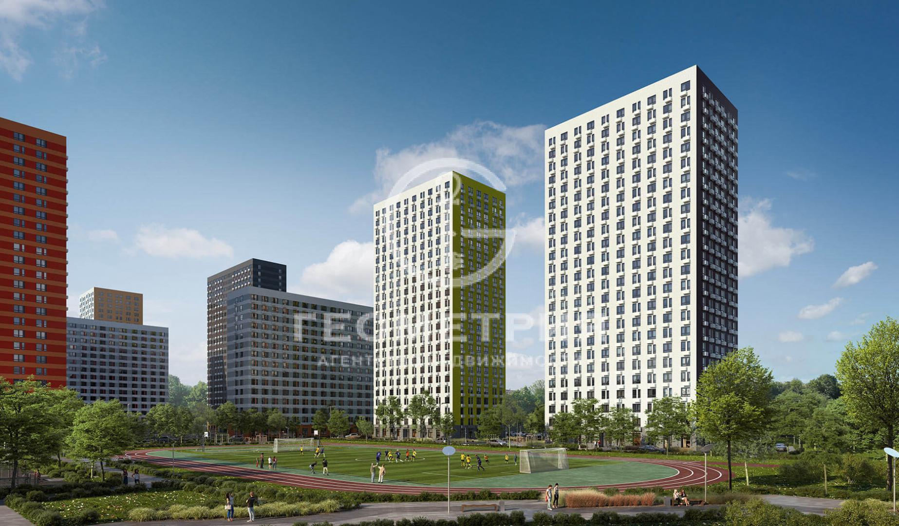 Продается двухкомнатная квартира за 8 900 000 рублей. г Москва, км Киевское шоссе 23-й (п Московский), д 5 к 2.