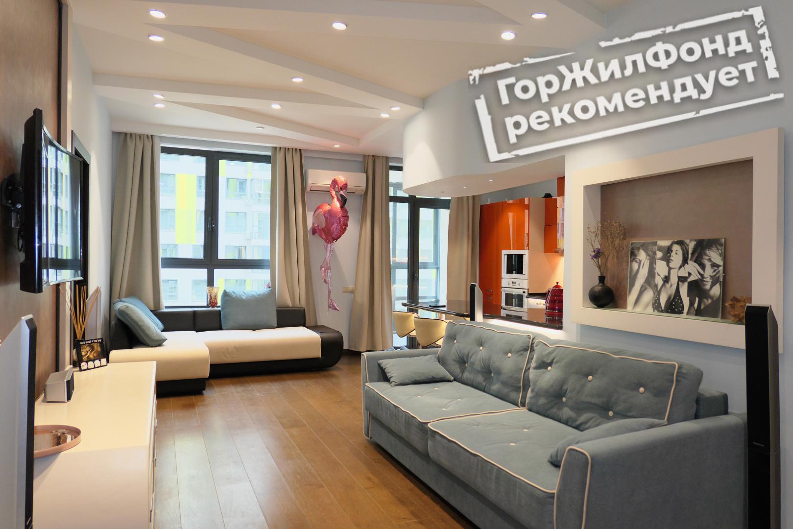 Продается трехкомнатная квартира за 23 900 000 рублей. г Москва, Береговой пр-д, д 5 к 2.