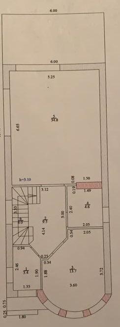 Продам дом по адресу Россия, Краснодарский край, городской округ Краснодар, Краснодар, 3-й Звенигородский проезд, 77 фото 1 по выгодной цене