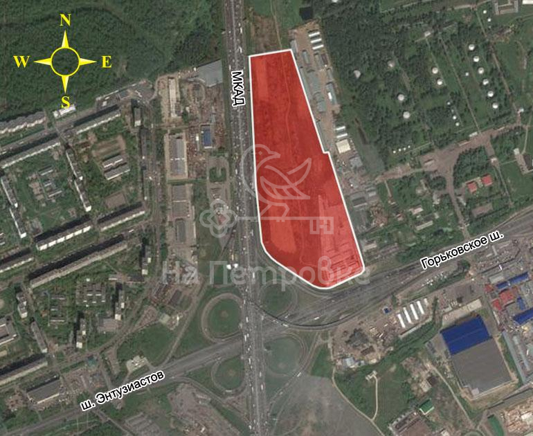 Land на продажу по адресу Россия, Московская область, Москва, МКАД, 109-й километр