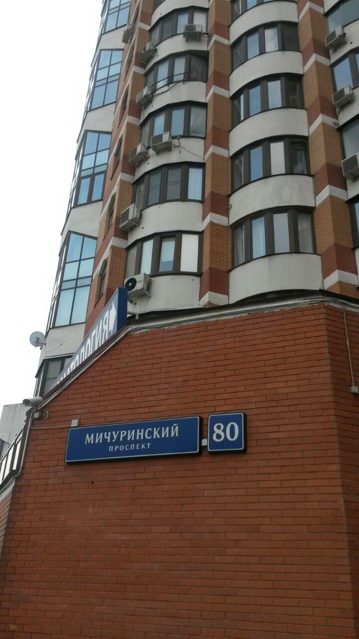 Москва город, Мичуринский проспект, 80