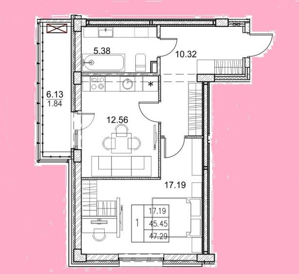 Продажа 2-к квартиры мамадышский тракт