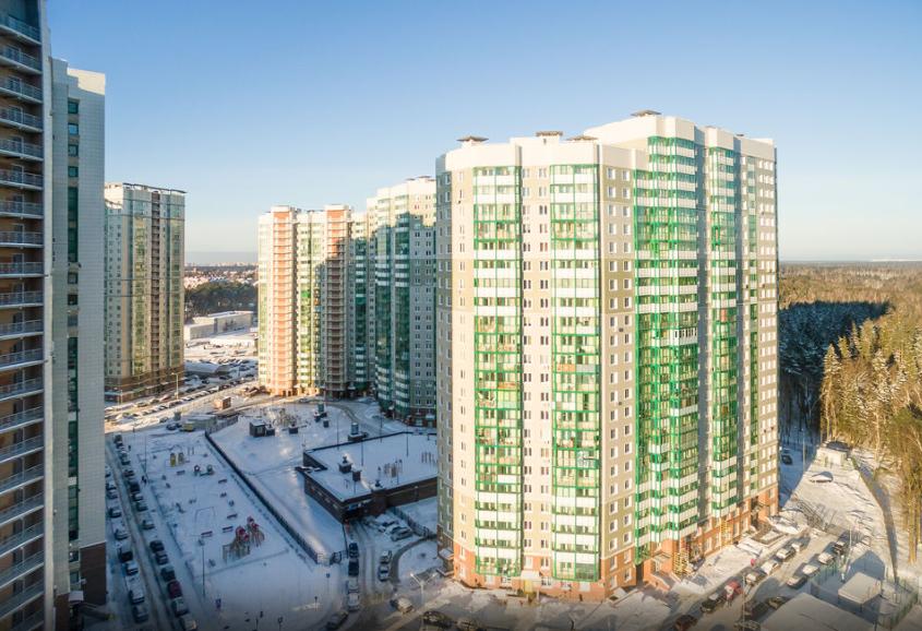 Продается трехкомнатная квартира за 7 224 000 рублей. Красногорск, улица Игоря Мерлушкина, 2.