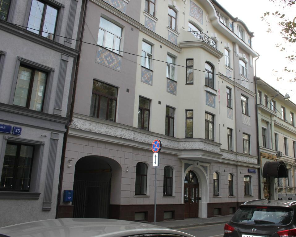 Москва город, Гагаринский переулок, 35