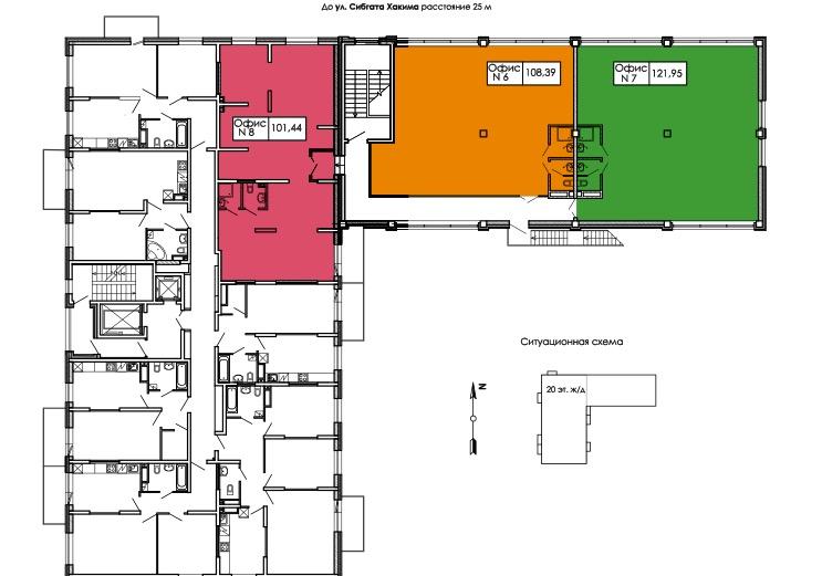 Продажа  помещения свободного назначения сибгата хакима, 52