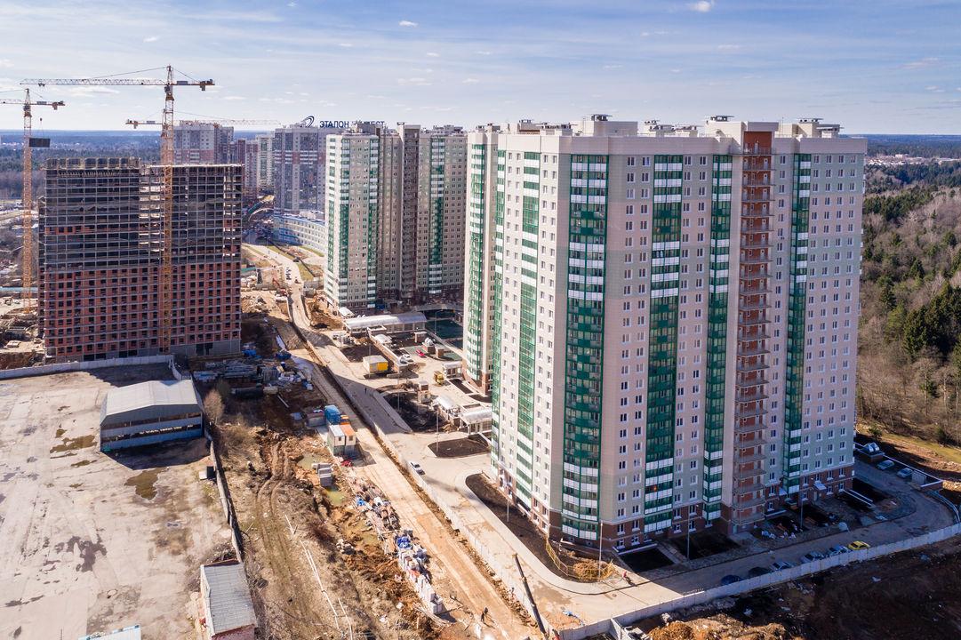 Продается трехкомнатная квартира за 6 135 471 рублей. Красногорск, бульвар Космонавтов, 16.