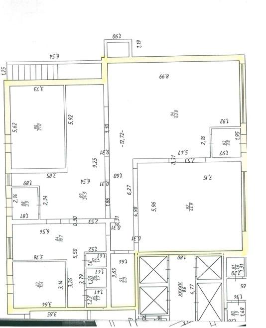 Продажа  помещения свободного назначения сибгата хакима, 60