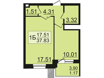 Продажа 1-к квартиры залесный сити