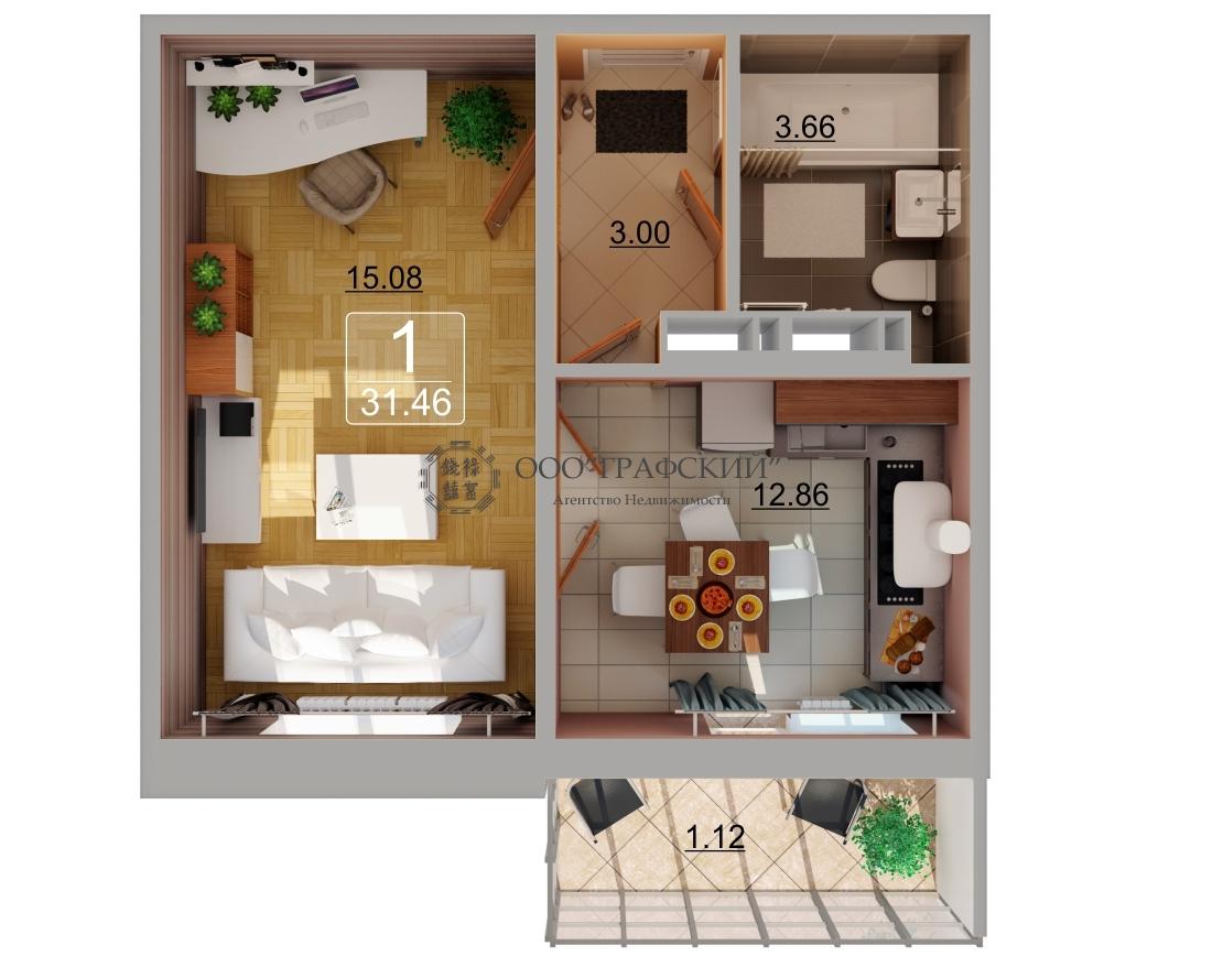 Продажа 1-к квартиры казань xxi век