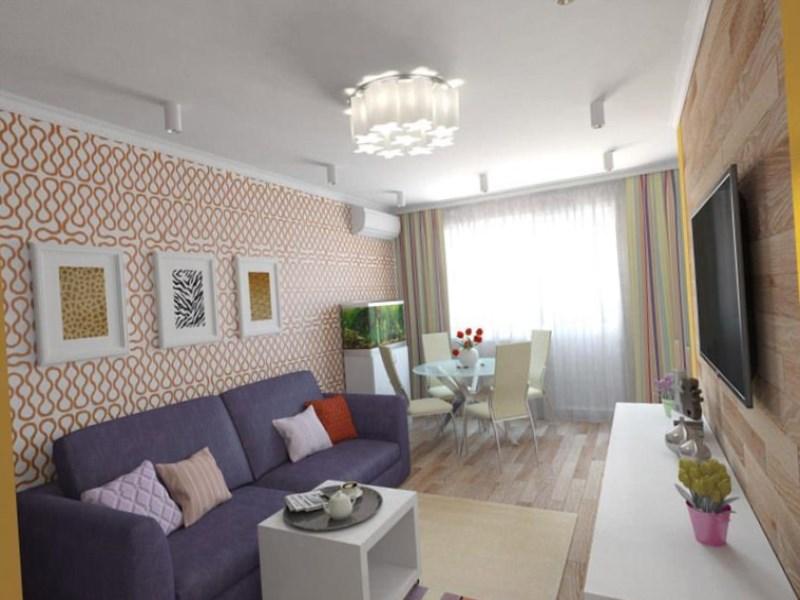 Интерьер 1 комнатной квартиры 30 кв.м хрущевка фото