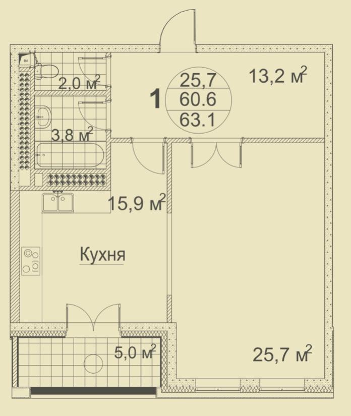 Квартира Москва