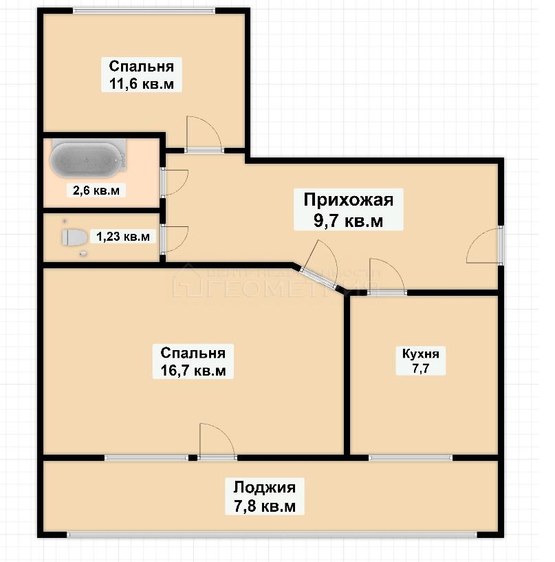 Квартира на продажу по адресу Россия, Краснодарский край, Динской район, Новотитаровская, Крайняя, 22