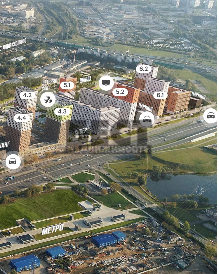 Продам 2-комн. квартиру по адресу Россия, Москва и Московская область, Москва, Боровское шоссе, 2к3 фото 3 по выгодной цене