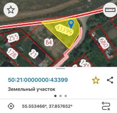 Участок на продажу по адресу Россия, Московская область, Ленинский городской округ, Молоково