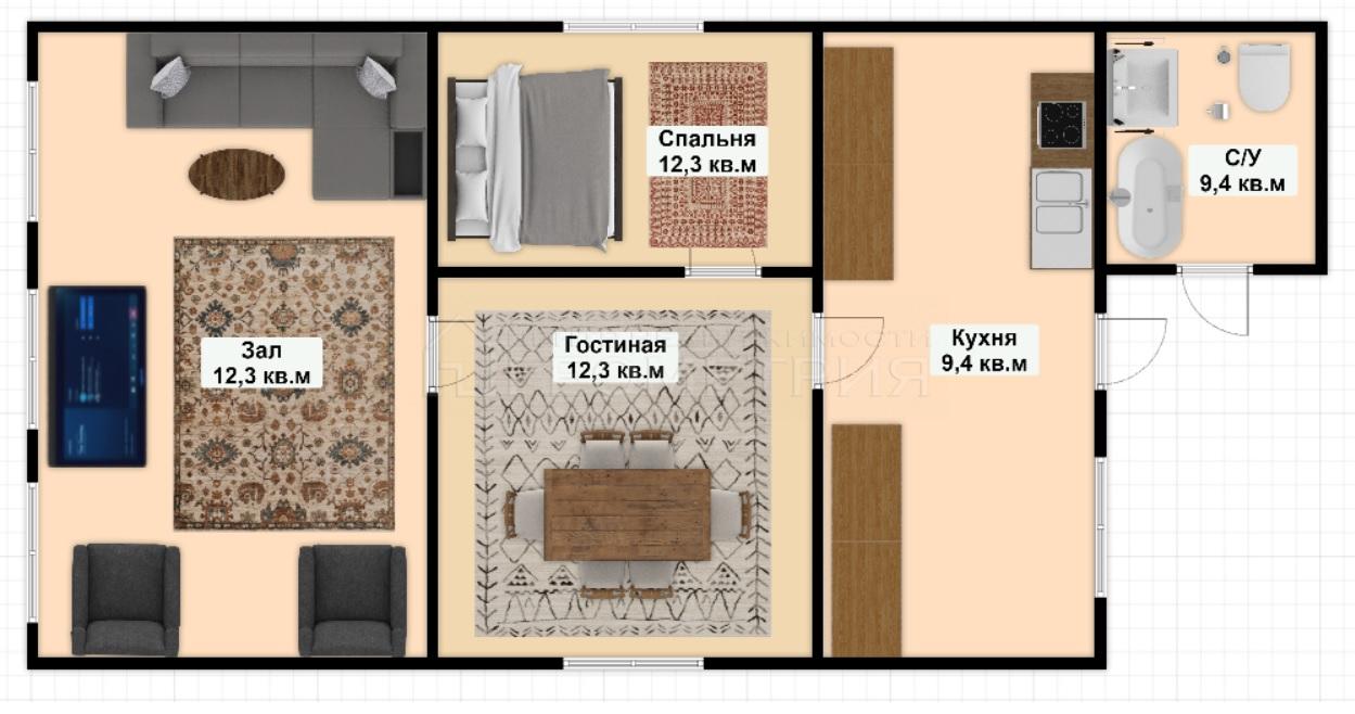 Продам дом по адресу Россия, Краснодарский край, Динской район, Новотитаровская фото 12 по выгодной цене