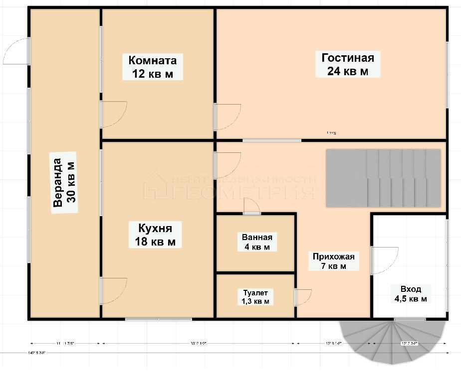 Продам дом по адресу Россия, Краснодарский край, городской округ Краснодар, Краснодар, Троицкая улица фото 25 по выгодной цене